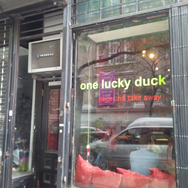 One Lucky Duck entrance (@ Pure Food & Wine), Gramercy NYC