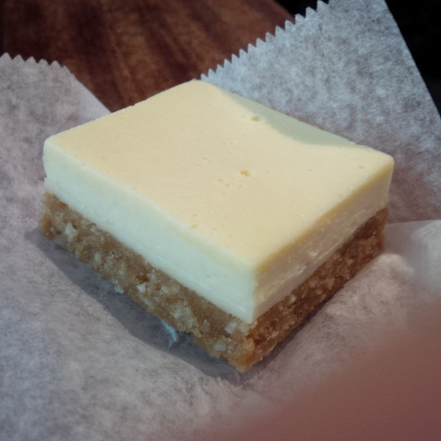 Raw Vegan Lemon Bar from One Lucky Duck, NYC