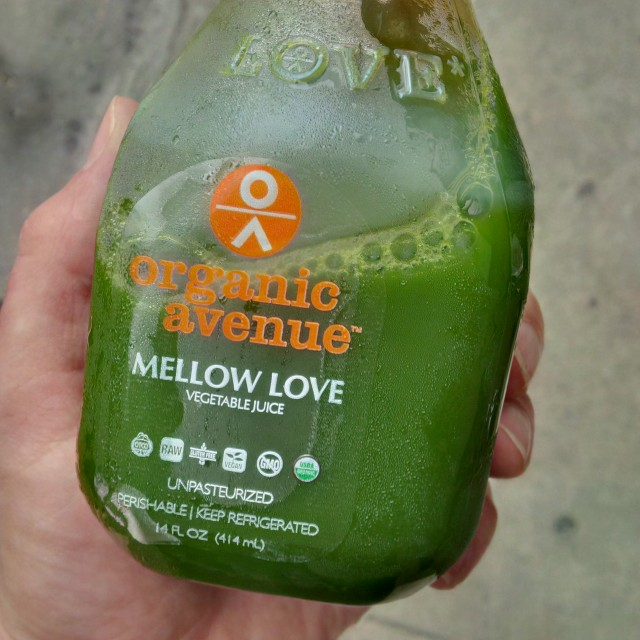 Organic Avenue Green Juice, NYC