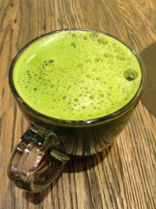 organic matcha green tea at teavana tea bar nyc cost $5.50