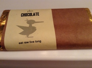 yummy yummy raw cacao raw chocolate from One Lucky Duck nyc MELTS IN YOUR MOUTH