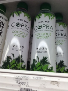 "A newcomer to the raw vegan coconut water market? Watch out ""Exotic Superfoods"" and ""Harmless Harvest""? I <3 raw coconut water."